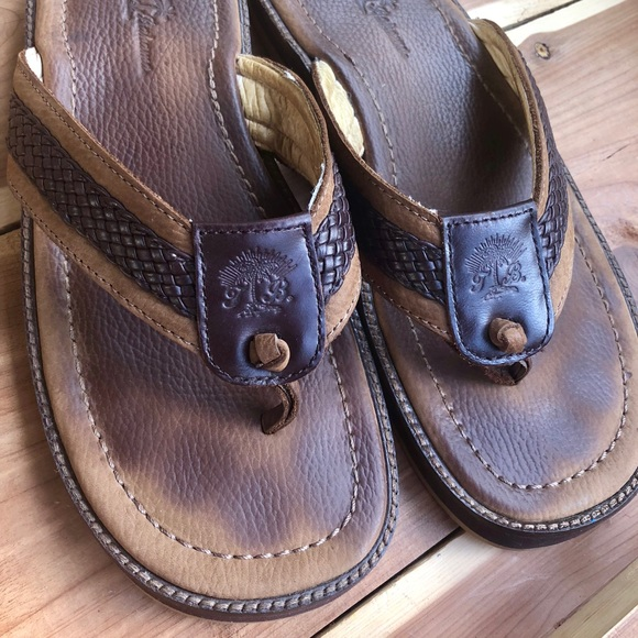 """c99930f9602 Men s Tommy Bahama """"Anchor Away"""" leather sandals. M 5ad14271fcdc319cb4b1f5c5"""
